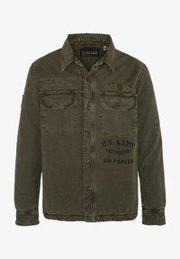 Schott - Light jacket - kaki - 0