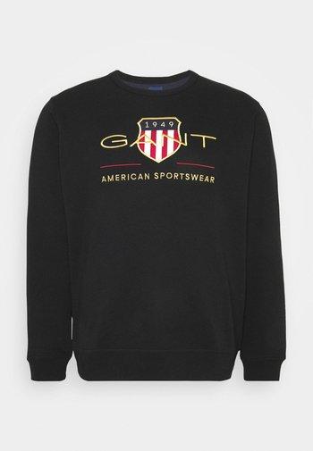 PLUS ARCHIVE SHIELD - Sweatshirt - black