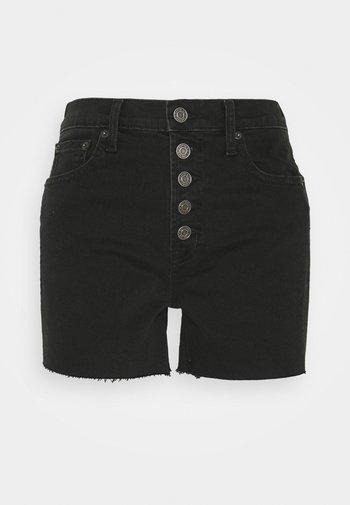 BLACK NEMO  - Shorts di jeans - washed black