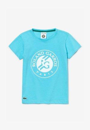TJ3273 - Print T-shirt - türkis weiß grün