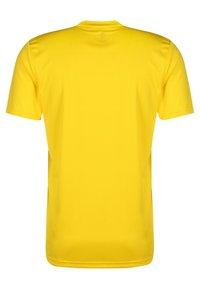 adidas Performance - AEROREADY PRIMEGREEN JERSEY SHORT SLEEVE - T-shirt - bas - yellow - 1