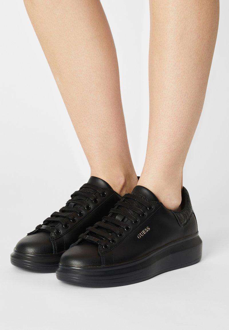 Guess - SALERNO - Sneakers basse - black