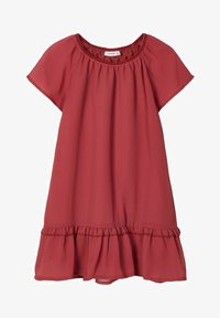 Name it - Day dress - earth red - 0