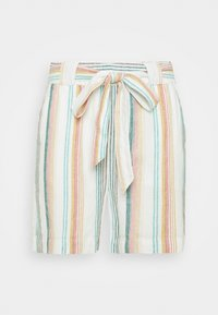 ONLY Carmakoma - CARSTACYI - Shorts - desert sage/multi stripes - 4