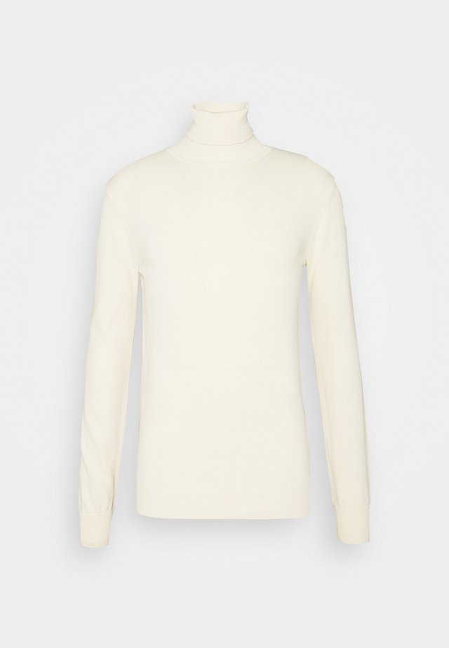 HENRIK ROLL NECK - Strikpullover /Striktrøjer - antique white