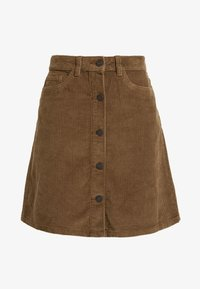 Noisy May - Mini skirt - tobacco brown - 3