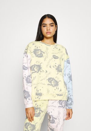 BEAR PANEL - Sweatshirt - multi