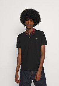 Vivienne Westwood - CLASSIC STRIPE COLLAR - Polo shirt - black - 0