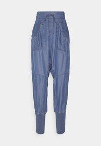 Cream - KAREN PANT - Trousers - medium blue denim - 0
