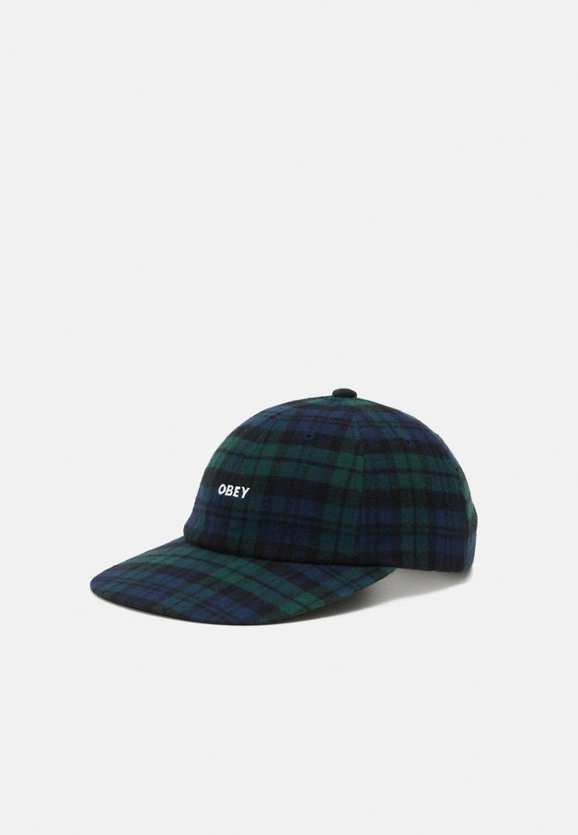 RHYE 6 PANEL STRAPBACK UNISEX - Pet - black