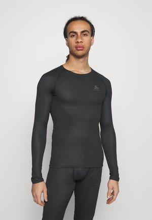 ACTIVE F DRY LIGHT ECO CREW NECK - Bluzka z długim rękawem - black