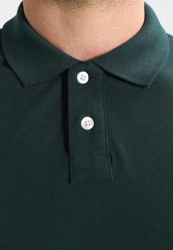 Pier One Koszulka polo - dark green/metaliczna zieleń Odzież Męska AVIF