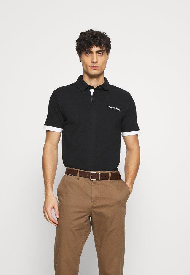 EARNEST - Poloshirt - schwarz