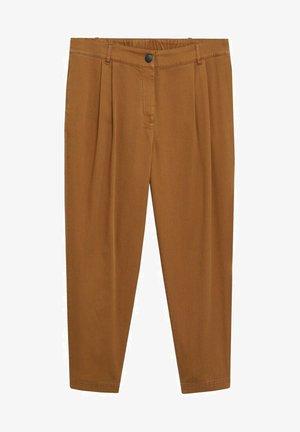 NEWPEPI - Trousers - caramel