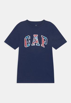 BOYS LOGO - Print T-shirt - elysian blue