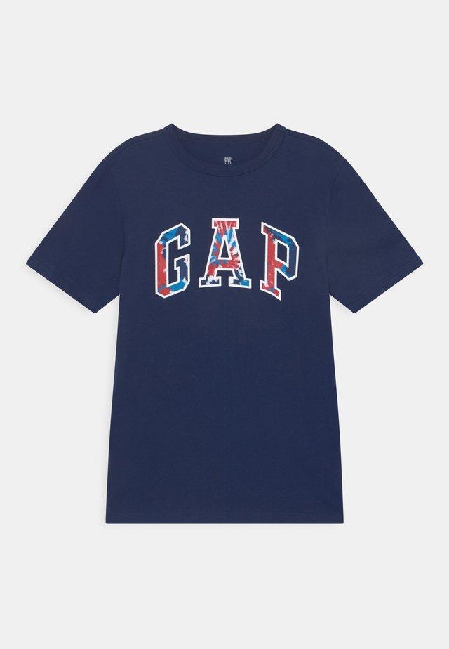 BOYS LOGO - T-shirt imprimé - elysian blue