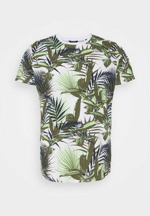 REPEAT - T-shirt imprimé - white