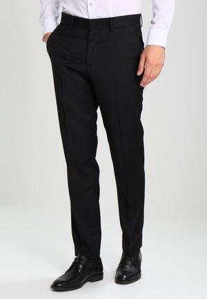 RHAMES - Suit trousers - black