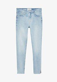 Mango - ISA - Jeans Skinny Fit - lichtblauw - 4