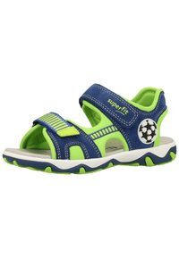 Superfit - Walking sandals - blue/green - 2