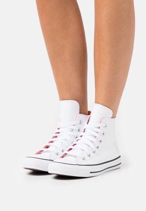 CHUCK TAYLOR ALL STAR POP - Sneakersy wysokie - white/pink salt