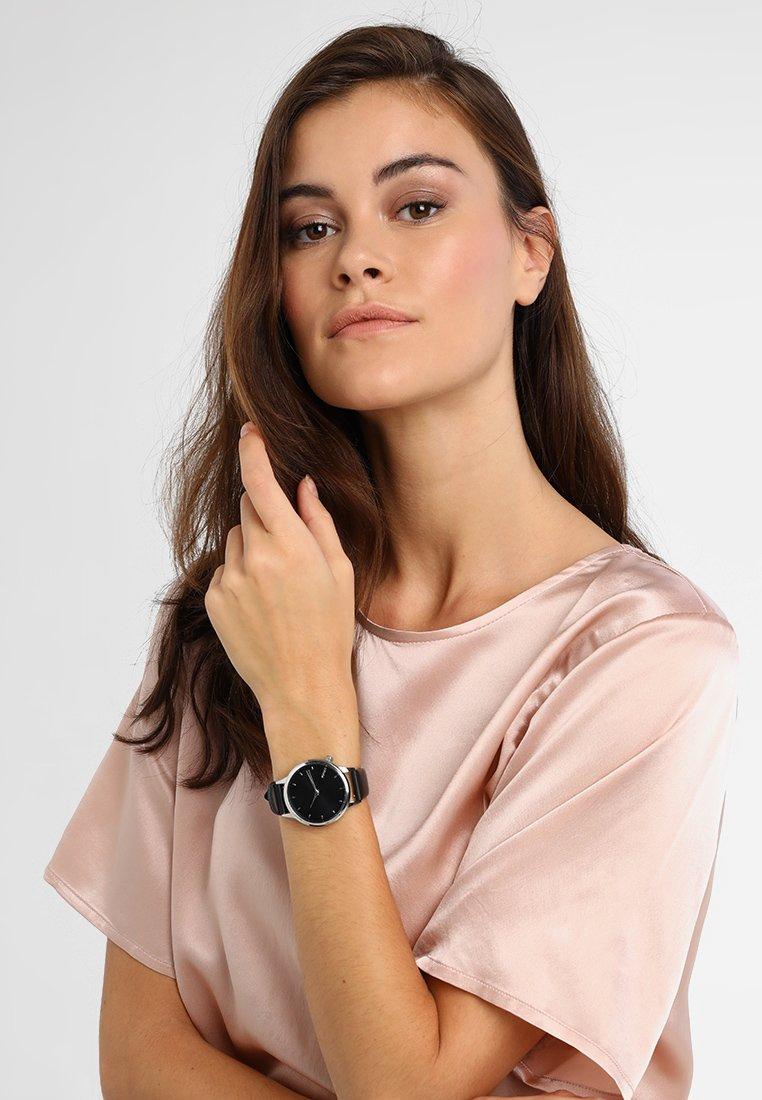 Komono - LEXI - Watch - black/silver-coloured