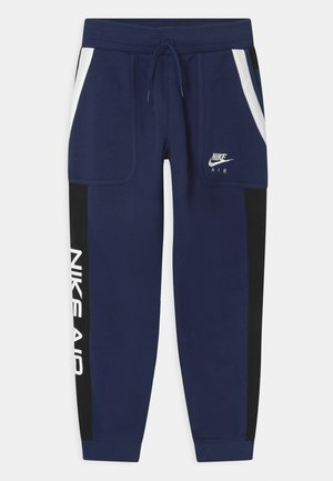 AIR - Tracksuit bottoms - midnight navy/black/white