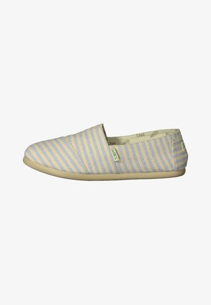 CLASSIC SURFY - Loaferit/pistokkaat - off-white  blue