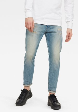 TAPERED - Slim fit jeans - vintage carolina blue