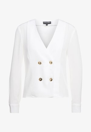 ARLENE LONG SLEEVE BLOUSE - Blouse - ivory