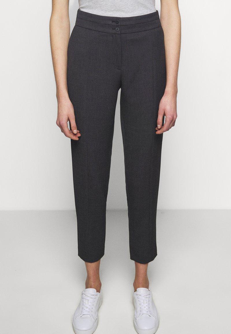 HUGO - HIRANA - Kalhoty - black
