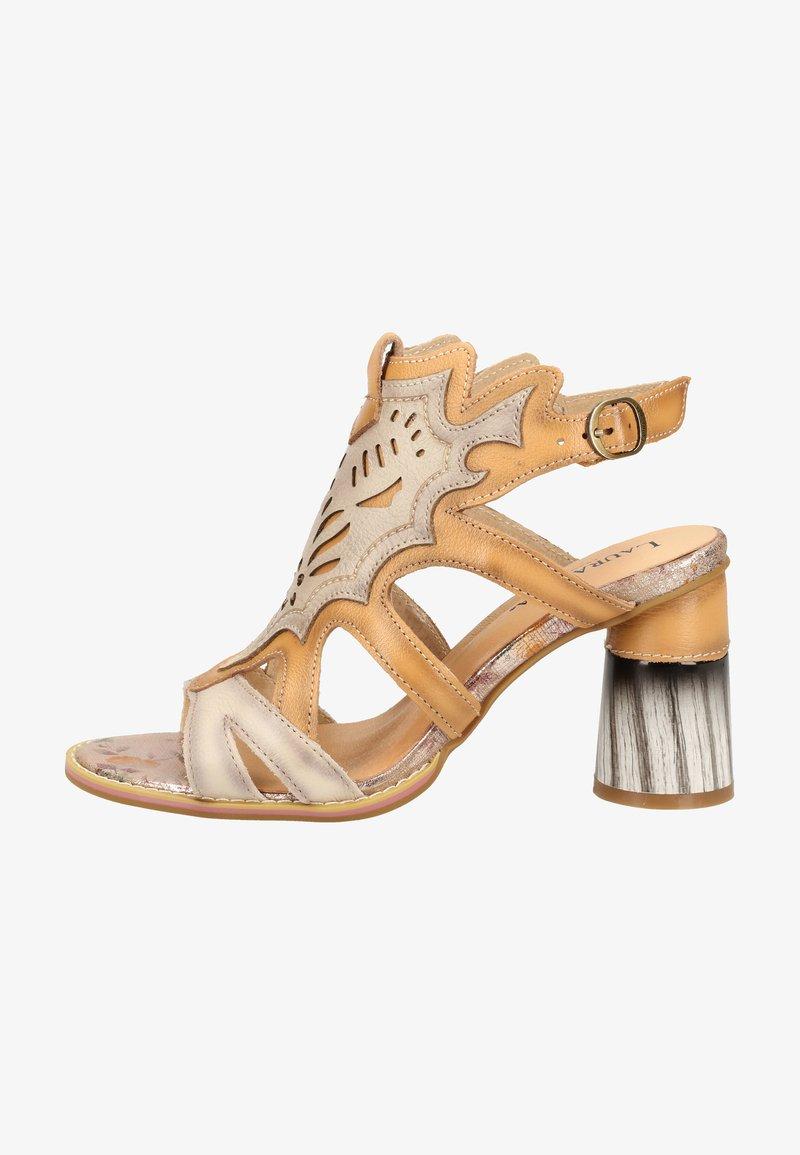 LAURA VITA - Sandalen met hoge hak - beige