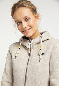 Schmuddelwedda - Fleece jacket - elfenbein melange - 3