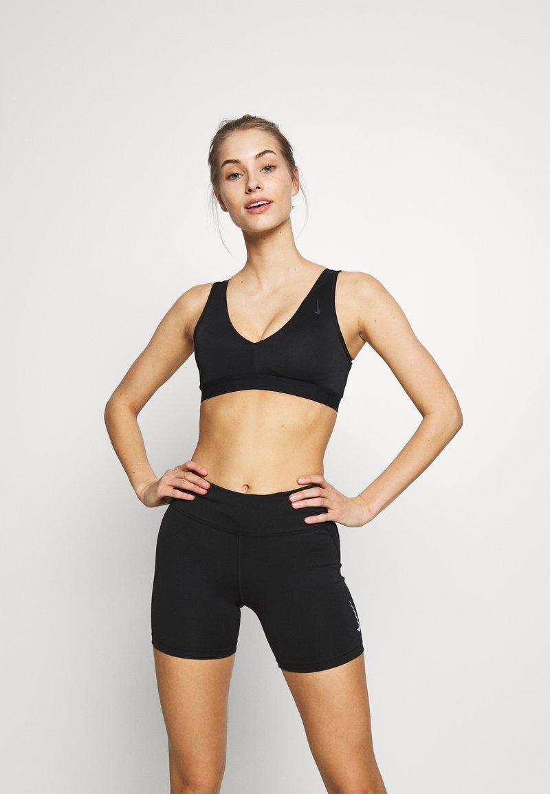 Nike Performance - FAVORITES NOVELTY BRA - Sport BH - black/smoke grey