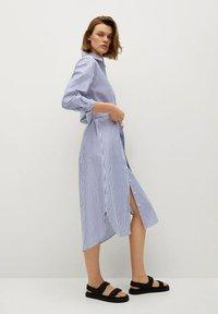 Mango - Shirt dress - azul - 3