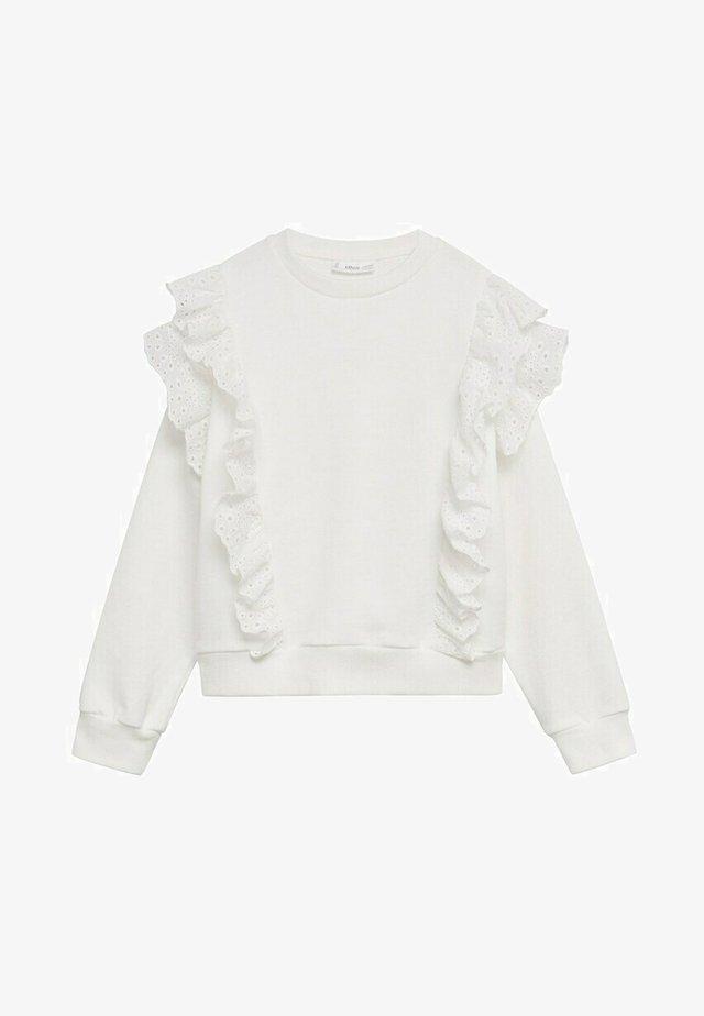 SUIZO - Sweater - gebroken wit