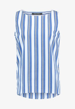 BLOUSE CREW NECK STYLE - Blouse - light blue