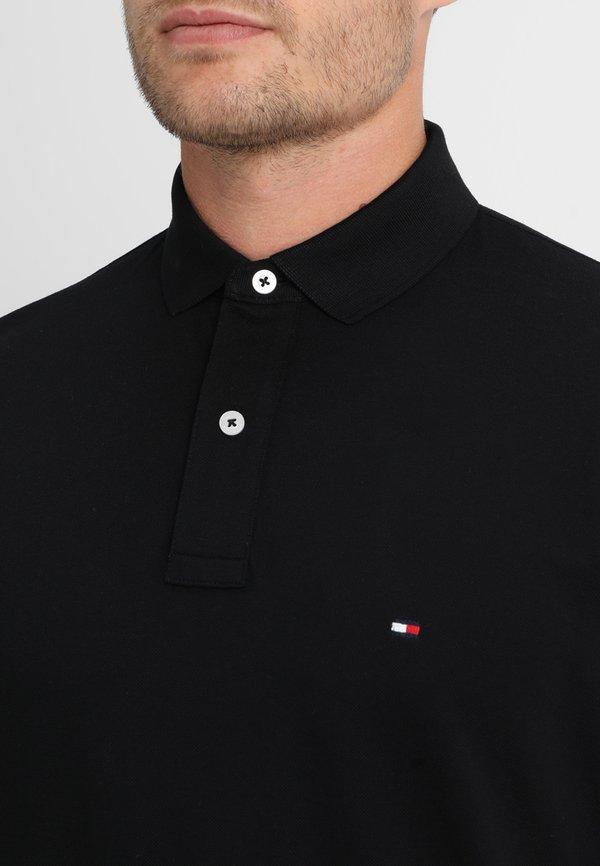 Tommy Hilfiger CORE REGULAR FIT - Koszulka polo - flag black/czarny Odzież Męska JVUW