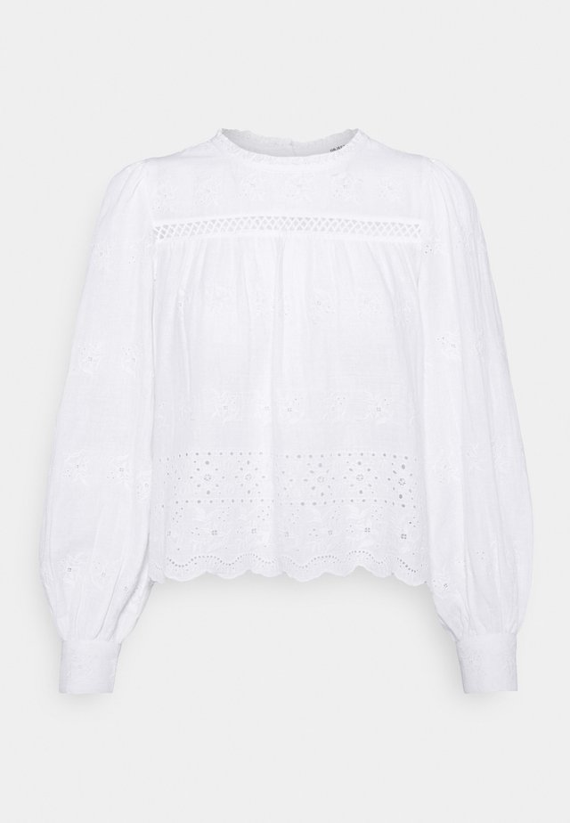 OBJYASNA - Blouse - bright white