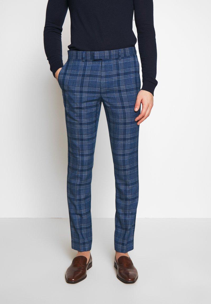 Topman - JAMES - Oblekové kalhoty - blue