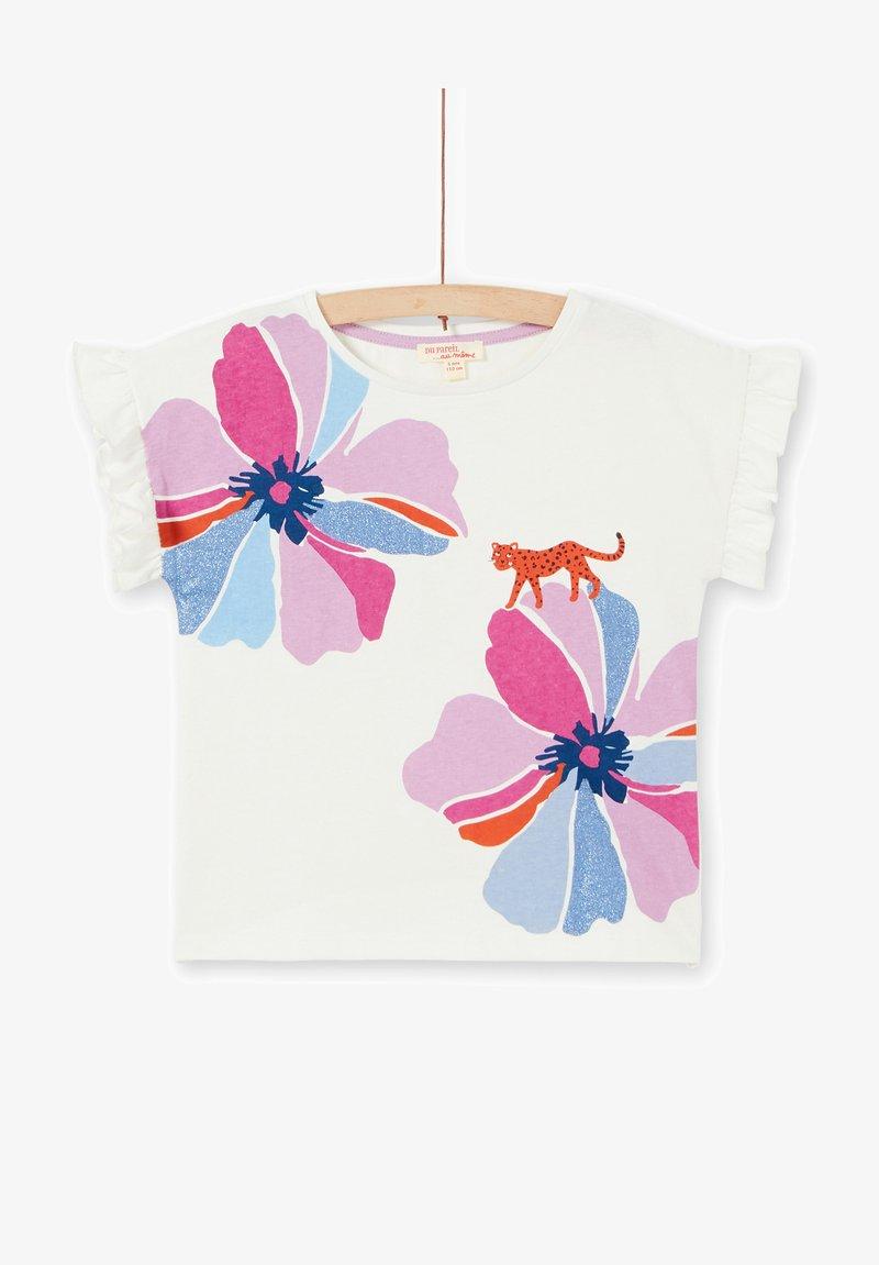 Du Pareil au Même - T-shirt print - off white