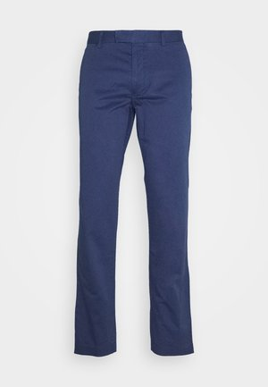 FLAT PANT - Tygbyxor - light navy