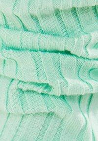 Bershka - MIT SCHLEIFE - Cardigan - green - 5
