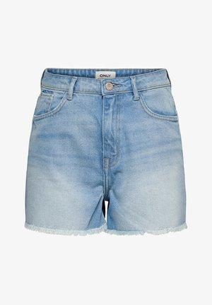KELLY - Denim shorts - light blue denim