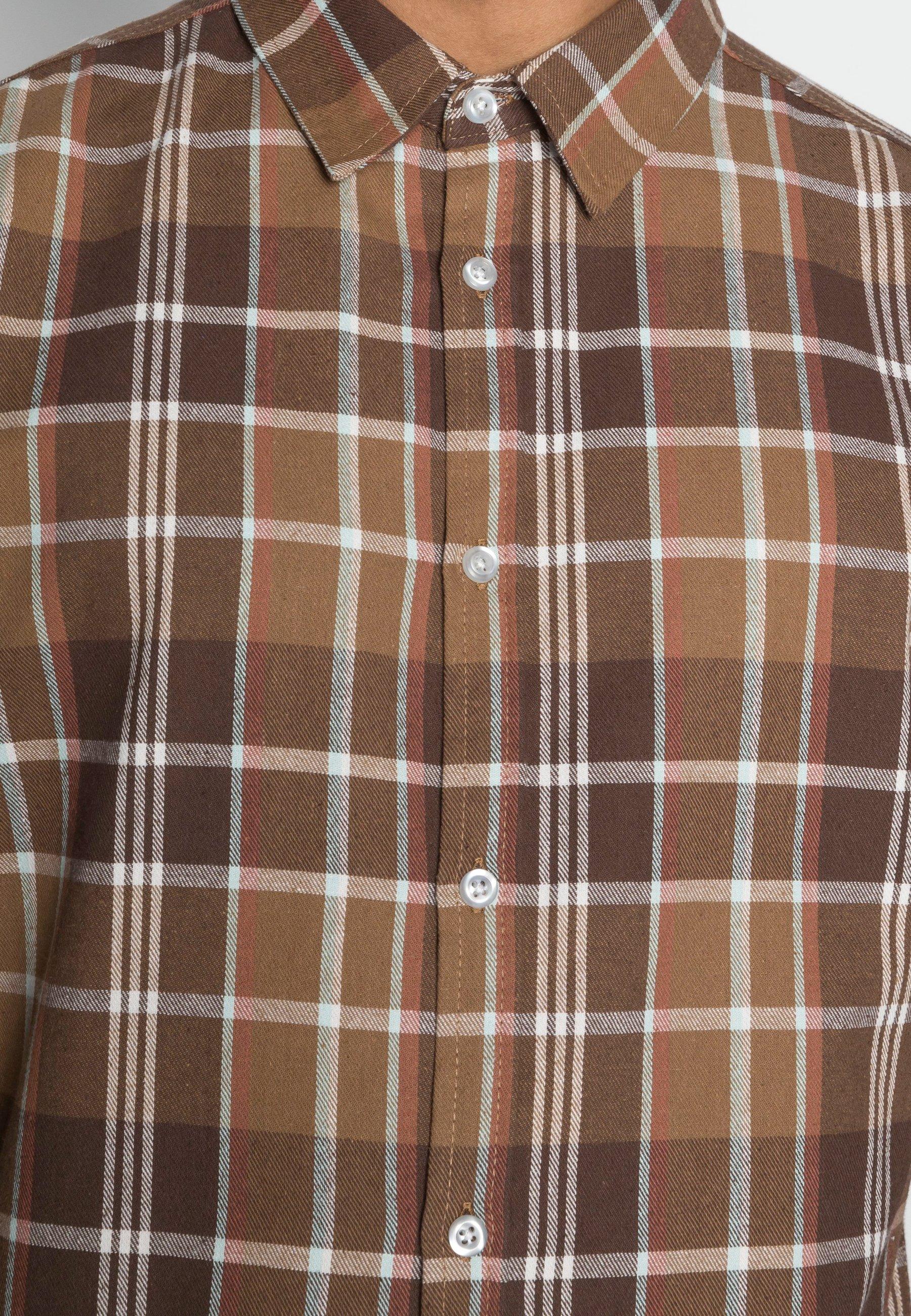 Herren FLANNEL CHECK OVER - Hemd