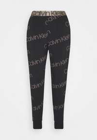 ICONIC LOUNGE - Pyjama bottoms - black