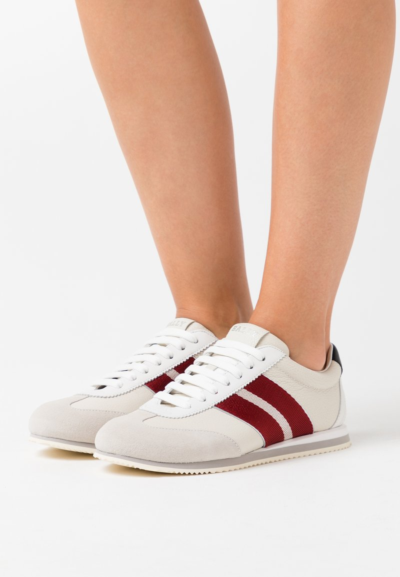 Bally - BERNA - Trainers - white/red