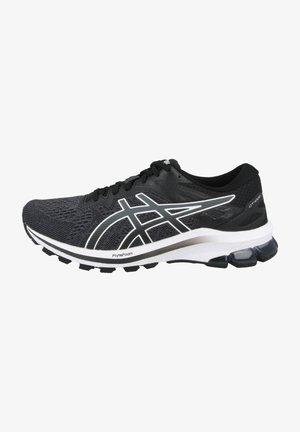 RUNNING - Stabilty running shoes - black-white