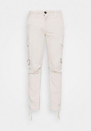 JOURNEY SURPLUS - Cargo trousers - beige