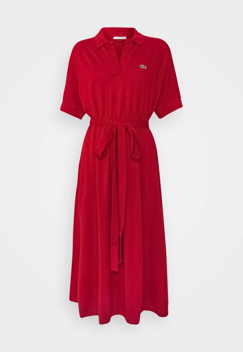 Lacoste - Shirt dress - coccinelle